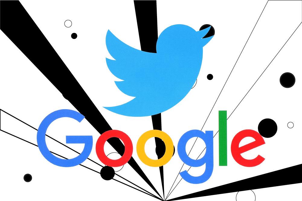 google e twitter tweet nei risultati di ricerca