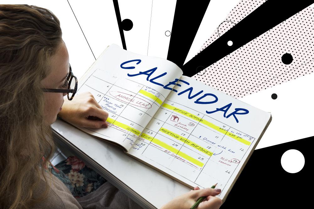 che cos'è calendario editoriale Social Network